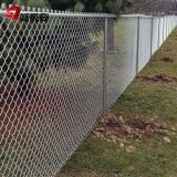 Professional Galvanized Chain Link Fence Package Kits 4ft - 12ft 5mm Wire Dia