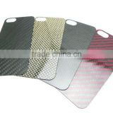 Carbon Fiber Mobile Cell Phone Backing Plate Custom Made Size Shape Colour Print Logo OEM/ODM