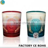 online wedding souvenirs wax candles flower floating pottery candlestick / decorative glass dome
