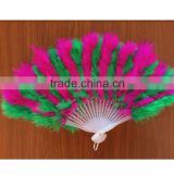 Good quality Dance feather fan Party supplies