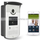 Visible Video Door bell Phone App two two audio Door Bell Wired Video Door Phone System Home Security Entry 2 Way Intercom