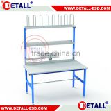 Professional Packing work bench with various accessories for packing material and tools.
