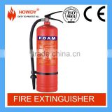 China hot sale foam afff 4L fire extinguisher equipment for car