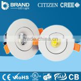 Factory price round up and down cob led downlight led recessed mounted down light dimmable led downlight CE/ROHS 20w