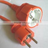 Supply AC Plug Wire Male Female Plug Power Cord VDE Plug Power cord of the Gauge Waterproof Plug