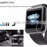 "1.54"" IPS Square 2G/3G Android Smart watch Q1 Android 5.1 Qaud Core with gprs 3g Wifi SIM Card"