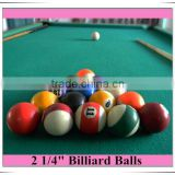 2 1/4 size billiards ball set Pool ball set