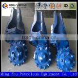 factory direct hard rock tricone drill bit / tungsten carbide blade three cone drill bit