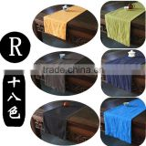 Chinese tea ceremony table runner linen cloth large tea towel tea fabric