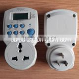 TH-160 changable sokcet timer switch socket timer LCD digital programmable socket timer plug socket timer