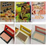 New Style! The Balm 3 Kinds Blush Hot Mama / Bahama Mama/Sexy Mama Makeup Blusher Palette