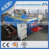 Prepainted Color Steel Corrugated Metal Roofing Sheet Roll Forming Machine Made in Hebei