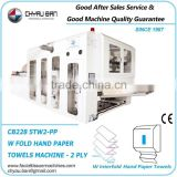 W Interfold Branded Hand Paper Towels Wrapping Making Machine System