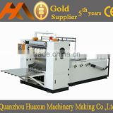 Facial tissue paper cutting machine with 6 lines