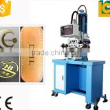 china pneumatic book foil stamping gold l card embossing machine hot foil stamping for plasticTC-200