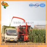 Double drum header straw silage Harvester cutter with chaff cutter blades