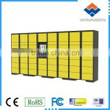 Parcel Delivery Locker for Airport Paid by Cash or Coins                                                                         Quality Choice