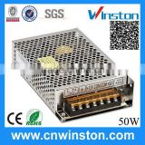 D-50C 50W 12V 2A High Quality Constant Voltage Dual Output Open Frame Switching Power Supply with CE