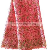 Alibaba popular software for trading business / water soluble fabric / coral lace fabric for sale for girl dress
