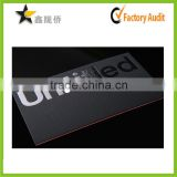 Hot Stamping Gold/Silver Business Card Embossed Foil Card with Low Price                                                                         Quality Choice