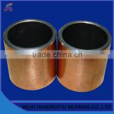 reciprocating motion bushing steel backing bronze bearing sliding 32 * 36 * 40 mm bore for pneumatic elements hydraulic motors