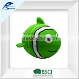 Green American football Clown Fish Beach ball