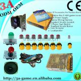 400 in 1 Jamma Arcade Multi pcb Game Board Joysticks Buttons Accessories Arcade Kits Game Parts