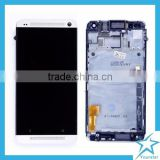 For HTC One M7 LCD With Touch Screen Digitizer And Frame