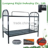 white metal single bed frame adult bunk bed bedroom set furniture metal frame bunk bed with desk metal removable bunk bed