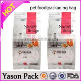YASON nuts food packing roll film pvc cling film for food packing food packing pouchs with tear notch and hanged hoel