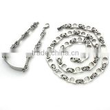 Fascinating Chain Charming Bracelet and Necklace Set Fashion Jewelry