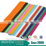 top quality gift wrapping paper double sided crepe paper