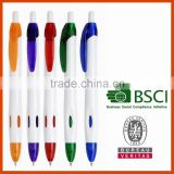 Latest popular china pen factory plastic ball pen office & school supplies stationery