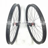 650B Hookless MTB carbon clincher wheelset for mountain bike 40mmx30mm clincher with DT 240S hub 32H/32H xd Driver