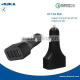 supporting 4 Devices Charging At Full Speed Simultaneously high quality car usb charger adapter