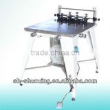 Manual vacuum screen printing table,manual screen printing machine