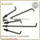 FACTORY SUPPLY HIGH QUALITY ZINC/HDG ASSEMBLED WITH WASHER AND NUT ANCHOR BOLT M33