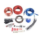 JLD Cable car audio amplifier installation 8Ga amp wiring kits