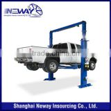 CE Launch 4000kg Capacity 2 Post Hydraulic Car Lift