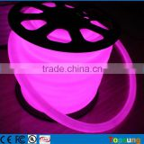 82' spool 12V DC 360 degree purple led neon lights for rooms high light quality dia 25mm round Trading Company