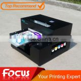2016 newest A4 UV printer, cell phone case/plastic card/transparent business card printing machine, used uv flatbed printer                                                                         Quality Choice