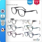 2015 fancy round lens optical frames young eyeglasses vintage spectacle OEM/ODM CE/FDA