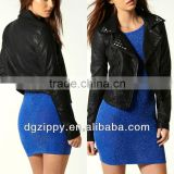 Studwork Biker Latest Lady Leather Jacket                                                                         Quality Choice