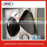 For Porsche Panamera Carbon Fiber Review Mirror Cover Car Mirror Cover