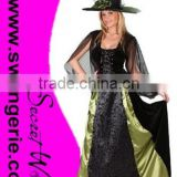 Beautiful Gothic Madien Witch COSTUME CC405