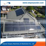 Aluminum Pitch Roof Solar Mounting System solar panel roofing sheets for Solar Mounting System
