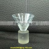 all clear hand made good quality and cheap pric shot glass