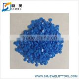 casting wax blue color jewelry wax bead of injection wax