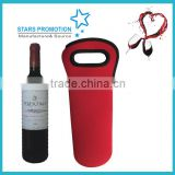 neoprene wine bottle holder; promotional bottler carrier; customized wine tote bag