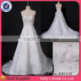snow white dresses for girls strapless lace with silver beading organza muslim lace wedding dress